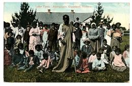 Lake Tyers, Aboriginals, Gippsland, Victoria, Australie, Carte Postale Ancienne 1908 - Aborigènes