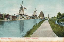 Waddinxveen, Bijenkorf, Oranjeboom, Jaagpad, Noordzijde, Windmills - Watermolens