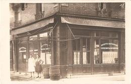 """Dépt 92 - CLICHY - (rue Madame De Sinzillon) - CARTE-PHOTO Devanture RESTAURANT """"À L'AVENIR"""" Maison TREMEUR, COSTY Succ. - Clichy"""