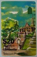 CAMBODIA - $20 - Anritsu - ICM3-1 - First Issue - OTC Int - Used - Kambodscha