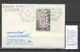 Algerie - Lettre  - Cachet Hexagonal SOUAHLIA SAS -  Marcophilie - Algérie (1924-1962)