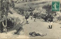 - Haute Corse -ref-B360- La Chasse à L Homme - Après Le Coup De Feu - Gendarme - Gendarmes - Police - Carte Bon Etat - - Francia