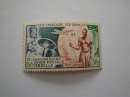 1949 Côtes Des Somalis Yv PA 23 ** MNH  Airplane Avions UPU Cote 16.60 €  Michel 307  Scott C 18  SG 425 - Côte Française Des Somalis (1894-1967)