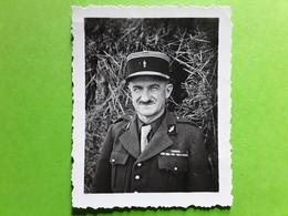 Photo Originale Militaire Officier Gendarme , Gendarmerie,  Tb - Guerra, Militari