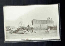 CPA Avion - Aéroplane Bréguet Replié - Transport Sur Route - Cliché Baron Douai - ....-1914: Précurseurs