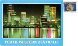 AUSTRALIA  WA  PERTH  View Of The City  Nice Stamp - Perth