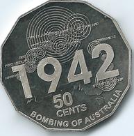 Australia - Elizabeth II - 2012 - 50 Cents - Shores Under Siege - Bombing Of Australia - KM1744 - Monnaie Décimale (1966-...)