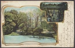 Hamburg - Altona, Partie Aus Dem Donner'schen Park, Wasserfall - Allemagne