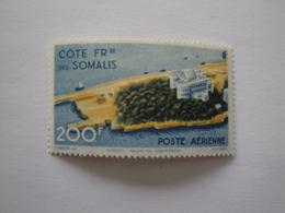 1947 Côtes Des Somalis Yv PA 22 ** MNH  Bateaux Ships  Cote 12.00 €  Michel 306  Scott C 17  SG 414 - Côte Française Des Somalis (1894-1967)