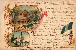 CPA PARIS EXPO 1900 Ensemble Du Petit Palais NICARAGUA (709829) - Expositions