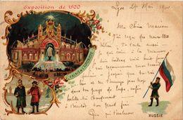 CPA PARIS EXPO 1900 Palais De L'Electricite RUSSIE (709831) - Expositions