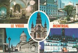 CP  - Le Vieux Montreal -  Quebec - Non Ecrite - Montreal