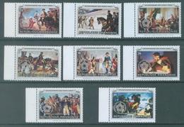 REPUBLIQUE RWANDAISE - 1976 - MNH/*** - USA BICENTENARY OVERPRINT - COB 753-760 Yv 729-736 - Lot 19091 - Rwanda