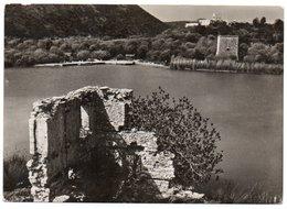 ALBANIE/ALBANIA - BUTRINTI / BUTRINTO PICCOLO PORTO VIVARI E LA CASA DELLA MISSIONE/ANNULLO POSTA MILITARE ITALIANA 1941 - Albania