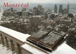 CP  -  Vue Du Mont Royal - Montreal -  Quebec - Non Ecrite - Montreal