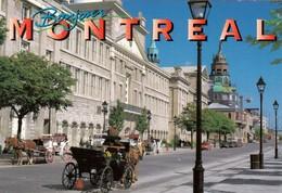 CP  - Bonjour   Montreal -  Quebec - Non Ecrite - Montreal