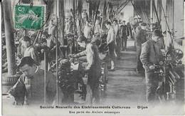 DIJON / Société Nouvelle Des Etablissements COTTEREAU - Une Partie  Des Ateliers Mécaniques (1908) - Dijon