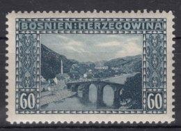 Austria Occupation Of Bosnia 1912 Mi#62 Mint Hinged - 1850-1918 Imperio