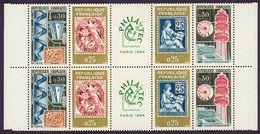 FRANCE / 1964 / Y&T N° 1417A ** : Bande Philatec - Gomme D'origine Intacte - Blocchi & Foglietti