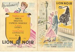 PETIT CALENDRIER 1955 LION NOIR - Calendriers