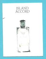 Massimo Dutti  /  Island Accord   (lot Grijs 33) - Cartes Parfumées