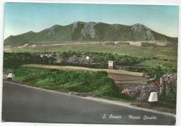 W1532 Sant'Oreste (Roma) - Panorama Col Monte Soratte / Viaggiata 1964 - Italia