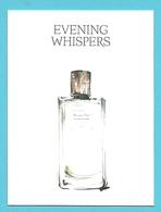Massimo Dutti  /  Evening Whispers    (lot Grijs 34) - Cartes Parfumées