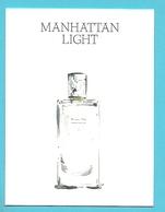 Massimo Dutti  /  Manhattan Light   (lot Grijs 35) - Cartes Parfumées