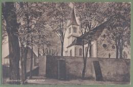 CPA Rare - BAS RHIN - BISCHWEILER (Bischwiller) - EVANGELISCHE KIRCHE -  Karl Hickel - Bischwiller
