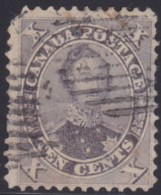 Canada . Scott .   17b    .   3 Stamps (3 Scans) .   11¾x12   .       O    .    Cancelled   . /  .   Gebruikt - 1851-1902 Regering Van Victoria