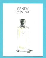 Massimo Dutti  /  Sandy Papyrus   (lot Grijs 37) - Cartes Parfumées