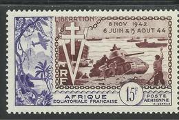 AFRIQUE EQUATORIALE FRANCAISE - AEF - A.E.F. - 1952 - YT PA 57** - MNH - A.E.F. (1936-1958)