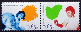 Finland 2004  Right Of The Child  MiNr.1723-24   MNH (**)    ( Lot  F 484) - Unused Stamps