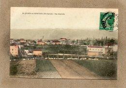 CPA - SAINT-JULIEN-en-GENEVOIS (74) - Aspect Du Bourg En 1910 - Carte Colorisée - Saint-Julien-en-Genevois