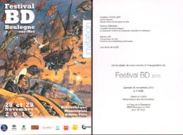 LIBESSART : Crte Invitation Salon BOULOGNE 2015 - Salomons