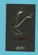Carte Parfumée Perfume Card SCANDAL BY NIGHT * JEAN PAUL GAULTIER  (lot Grijs 41) - Cartes Parfumées