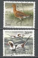 Iceland 1988 Used Stamps Mi 691-92 Birds - 1944-... Republik