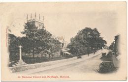 HORNSEA - St Nicholas's Church - Angleterre