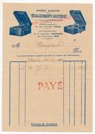 "Indochine - Facture ""Etablissements Indophono"" - (Tourne-disques) - HANOI 1932 - Factures & Documents Commerciaux"