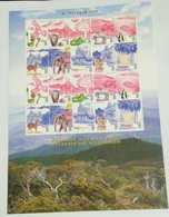 Malaysia 1999 Celebrate The Millennium 1999 Bird Fish Frog Boat Sheetlet Sheet MNH - Malaysia (1964-...)