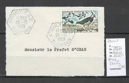 Algerie -Devant De  Lettre  - Cachet Hexagonal CHOULY SAS -  Marcophilie - Algérie (1924-1962)
