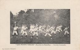 "CPA:""LES PETITS TURCOS "" SECTION DE ROMILLY EXERCICE D'ENSEMBLE (28) - Cartes Postales"