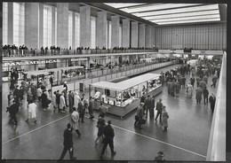 BERLIN - TEMPELHOF CENTRAL AIRPORT - MAIN HALL - EDIZIONE ANNI '60 - NUOVA - Aerodromi