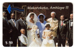 ZIMBABWE REF MV CARDS ZIM-08 50$ MARIAGE SCENE 2 - Simbabwe