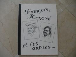 Grand Livre De J.guignolet Sur Les Auteurs Francais BALZAC RABELAIS RONSARD - Sérigraphies & Lithographies
