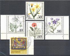 1980: Berlin Mi.Nr. 629 - 633 Gest. (d443) / Allemagne Y&T No. 590 - 594 Obl. - Gebraucht