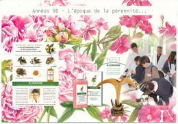 Annees 90 -- L'epoque Du Developpement  -- Exposition Itinerante Klorane Capillaires - Commercio