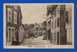 Briey . Meurthe Et Moselle . Rue René Dorme . Cpa . Pli Bas Gauche - Briey