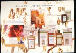 Annees 80 -- L'epoque Conquerante   -- Exposition Itinerante Klorane Capillaires - Commercio