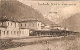 (C).Domodossola(VB).1920.Stazione Internazionale.F.to Piccolo (c17) - Verbania